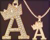 ☎ Gold Chain A | F