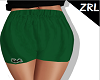 ZRL - GREEN SHORT LACOST