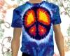 Peace Sign Tie Dye Shirt