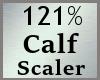 Scale Calf 121% MA