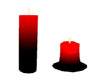 s~n~d melt red candle