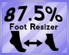 Foot Scaler 87.5%