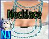 ~NJ~Light Blue Necklace