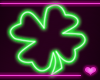 � Neon Sign SHAMROCK