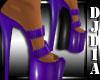 Purple Candy PVC Shoes