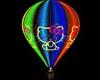 !  Kitty Hot Air Balloon
