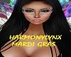 MARDI GRAS MASK DIAMOND