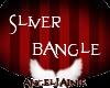 *AJ* Silver Bangle