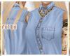 ♀| Denim Blu 1 | Shirt