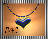 [VP] Bk heart necklace