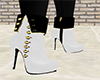 SGP white casual boots