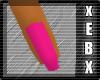 -Pink Dainty Nails-