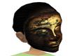 Golden Bouddah Mask
