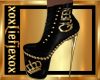 [L] Queen Gold Boots F