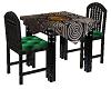 celtic tarot table