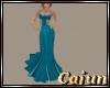 Ocean Blue Gown