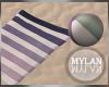 ~M~   Beach Towel Pose