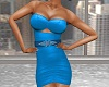 Storm Blue Evening Dress
