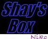 Shay's box sign