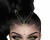 Headdress Gold Green
