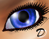 Unisex Vibrant Blue Eyes