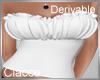 C derv crow corset top