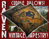 TAPESTRY CUDDLE PILLOWS!