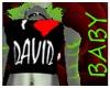 I ♥ DAVID tank top