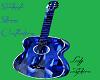 Sapphire Guitar Statue