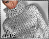 ! Crop Silver Sweater