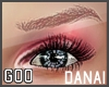 {G} Danai Brows Red Md
