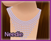 [n] Lilac Pearl Necklace