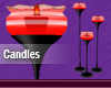 Red Animated Candles