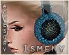 [Is] Fur EarWarmer Blue