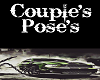 Couples Poses Wall Sign
