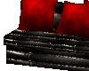 RW# Black n red sofa