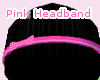 ~Pink Headband~