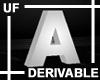 UF Derivable Letter A