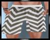 Shorts Zig Zag Charcoal