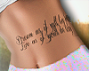 Tatt - Dream as if you
