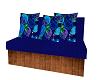 love seat.blue