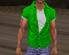 Green Muscle Shirt