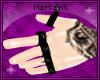 [MZ]Pvc Spike RingsM L