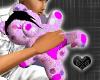 *-*Emo Pink Teddy Bear