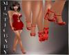 ~M~ Red Heart Heels