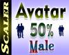 Avatar Resizer 50%