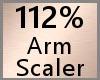 Arm Scaler 112% F A