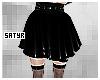 Black Latex Skirt RLS
