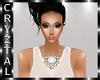 Ziona Necklace White
