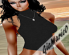 g;black suede top